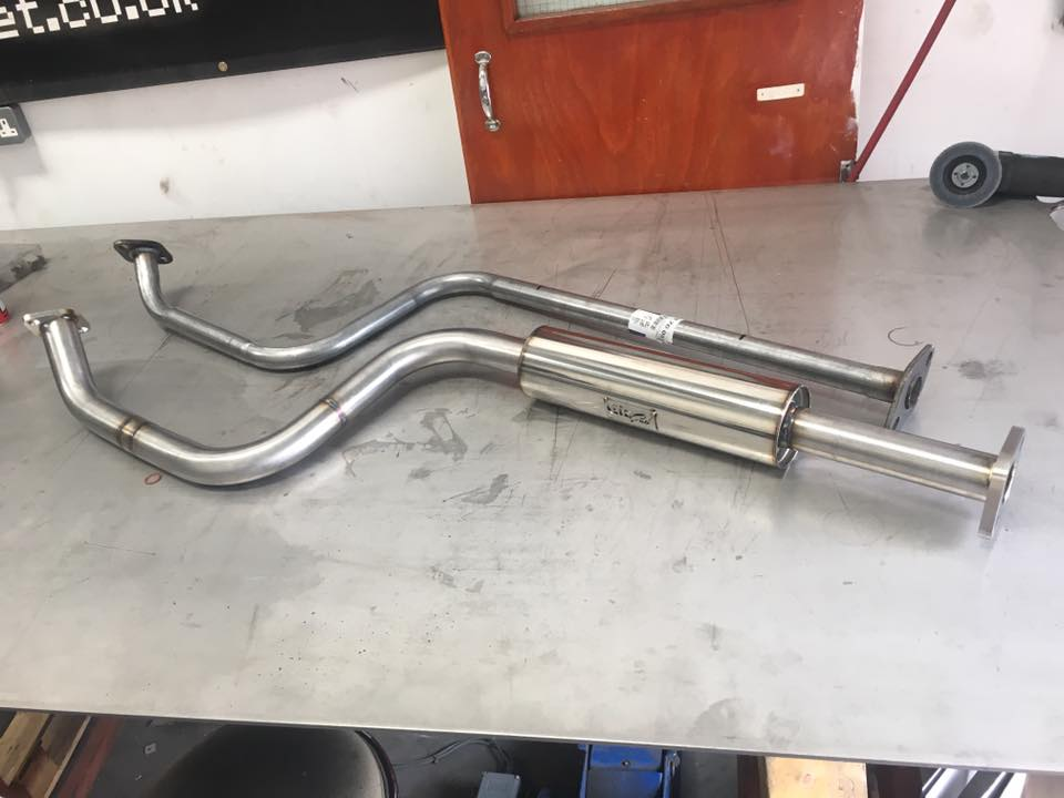 Nissan Micra K11 Stainless Center Exhaust
